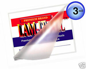 Lam it all Hot Laminating Pouches 12 X 18 inch Menu pk Of 100 Clear 3 Mil