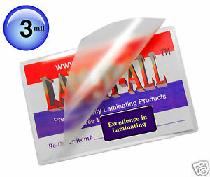 Lam it all Hot Laminating Pouches 12 X 18 inch Menu pk Of 200 Clear 3 Mil