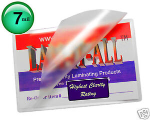 Lam it all 7 Mil 12 X 18 Menu Laminating Pouches 100 Pc For 11x17 Paper