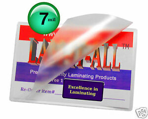 Lam it all Hot Laminating Pouches 9 X 14 1 2 inch Legal pk Of 100 Clear 7 Mil