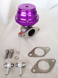 Tial 38mm Authentic External Wastegate 1 Bar Purple F38