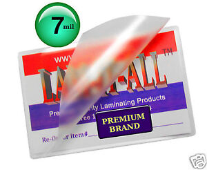 200 Pc 7 Mil Lam it all Hot Letter Laminating Pouches 9 X 11 1 2 Clear 11 5