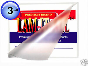Lam it all Hot Laminating Pouches 12 X 12 inch pk Of 100 Clear 3 Mil