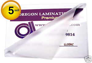 Hot 5 Mil Legal Laminating Pouches 9 X 14 1 2 100 Clear
