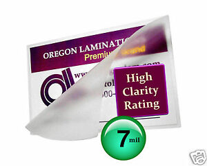 200 Hot 7 Mil Legal Laminating Pouches 9 X 14 1 2 Clear