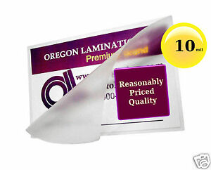Hot Laminating Pouches 8 3 4 X 11 1 4 inch Mini Letter pk Of 100 Clear 10 Mil