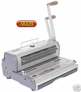 Akiles Wiremac 31 Wire Binding Machine Punch 3 1 Pitch 14 New Awm 31