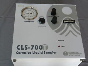 Particle Measuring Systems Cls 700t Corrosive Liquid Sampler Particle Counter
