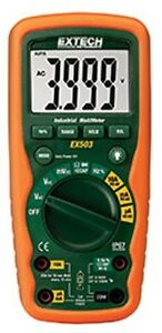 Extech Ex503 Cativ 10 Function Heavy Duty Industrial Multimeter