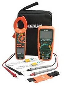 Extech Ma620 k Industrial Dmm clamp Meter Test Kit