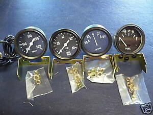 Jeep Willys Mb Gpw Cj2a 3a Cj3b 6 Volt Gauge Kit New