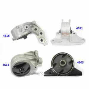 Engine Motor Mount 4pcs For 99 05 Mitsubishi Eclipse Galant 3 0l M045 At