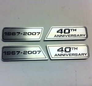 New Aftermarket Wings Emblems For Your Mustang Shelby Gt500