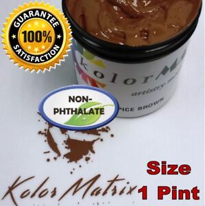 Gen Opaque Spice Brown Premium Plastisol Screen Print Ink Non Phthalate Pint