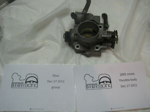 Mazda Miata Complete Throttle Body 2001