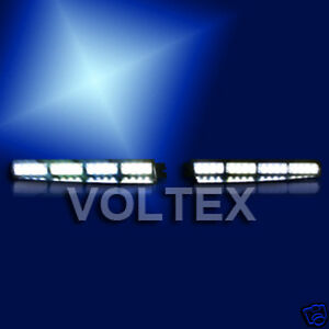 Voltex 1w Visor Split Deck Dash Led Lightbar Light Bar