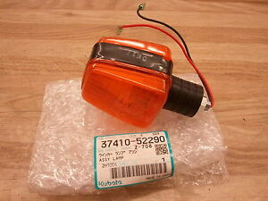 New Kubota 37410 52290 Amber Hazard Winker Light B L M Series Tractors