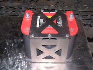 Optima 75 86 Battery Box Mount Yellow Red Top Tray Offroad Stainless Steel