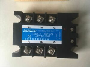Three Phase 3phase Dc Ac Solid State Relay Ssr 100a 100a