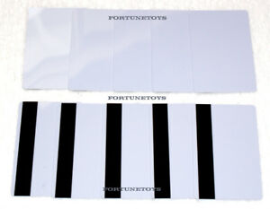 250 Pvc Plastic Blank White Credit Card 30 Mil With Loco Magnetic Stripe