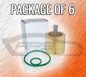 Oil Filter L25608 For Toyota And Lexus Case Of 6 Over 100 Models