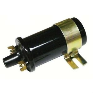 12 Volt Ignition Coil Ford Tractor 2000 3000 4000 5000 8n 12v W Resistor New