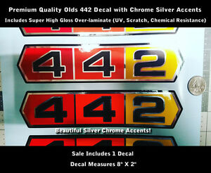 442 Decal | OEM, New and Used Auto Parts For All Model