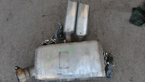 Maserati Coupe Rh Right Rear Muffler Exhaust Used P n 184815