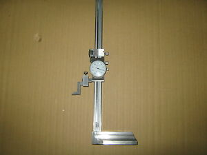 0 12 Dial Height Gage Single Beam new