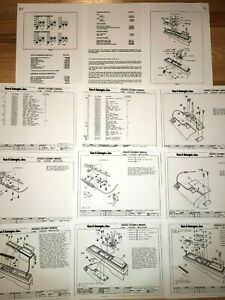 Hurst Shifter G Body Lightning Rods Rod Factory Instruction Installation Manual