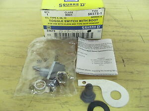 Square D Sksts 1 Toggle Switch With Boot