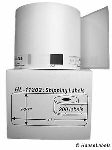 10 Rolls Of Dk 1202 Brother compatible Shipping Labels bpa Free