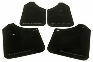 Rally Armor Ur Black Mud Flaps Kit Silver Logo For 02 07 Wrx Sti Rs 2 5 I