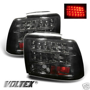 1999 2004 Ford Mustang Led Tail Light Bar Lamp Lightbar Smoke