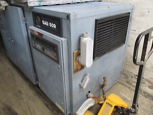 Atlas Copco Gau 509 Air Compressor Screw 50hp
