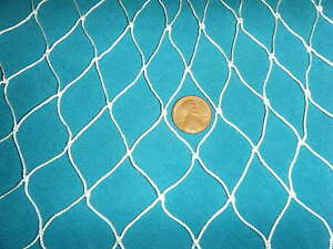 35 X 7 Fishing Net Barrier Sports Home Trees Animals Fish Chickens Coop Leafs