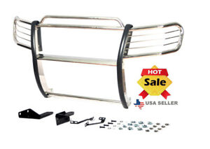 Fit 2005 2008 Nissan Xterra Chrome Bumper Brush Grill Guard In Stainless Steel