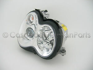 Hella Oem Mercedes Bi Xenon Hid Headlight Assembly With Bulbs And Ballasts Right