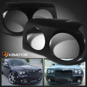 2005 2010 Chrysler 300c Headlight Covers Bezel Eyelids Left Right