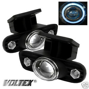 2000 2006 Gmc Sierra 1500hd 2500hd Yukon Led Projector Fog Lights Lightbar