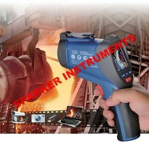 Cem Dt 9860 Dual Laser Ir Infrared Video Thermometer 50 1000 c 58 1832 f