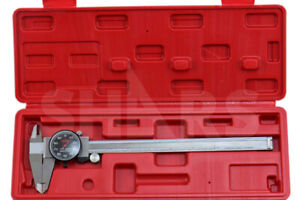 8 Dial Caliper Shock Proof 001 Stainless 4 Way Black Face Inspection Report A