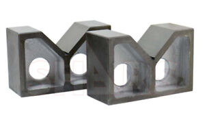 Shars 6 X 2 1 2 X 3 1 2 High Quality Cast Iron V block New