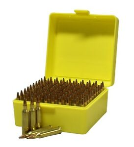 New Ammo Box Ammunition Safe Gun Rifle Bullet Case 100rnd Firearm Hunt Storage