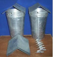 6 Maple Syrup Aluminum Sap Buckets Lids Covers Taps Spiles Spouts
