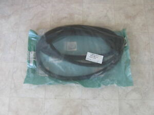 68 75 Plymouth Barracuda Valiant Windshield Gasket Rubber Seal 2 door Wcrd690