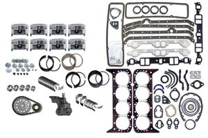 Ford Car 302 5 0 87 90 Engine Rebuild Kit Ho