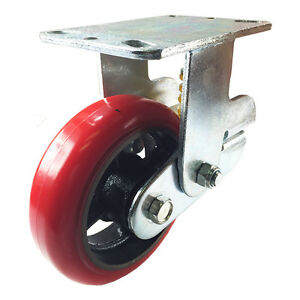 6 X 2 Shock Absorbing Caster Rigid