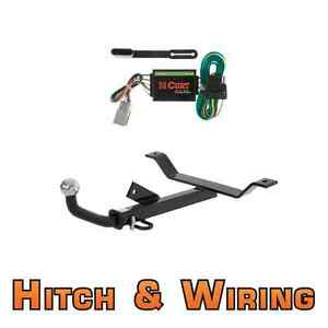 Curt Class 1 Trailer Hitch Wiring Euro Kit W 2 Ball For Cl Tl Accord