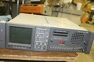 Tektronix 1740 Waveform Monitor Grassvalley Ten X Tm Audio Production Receiver